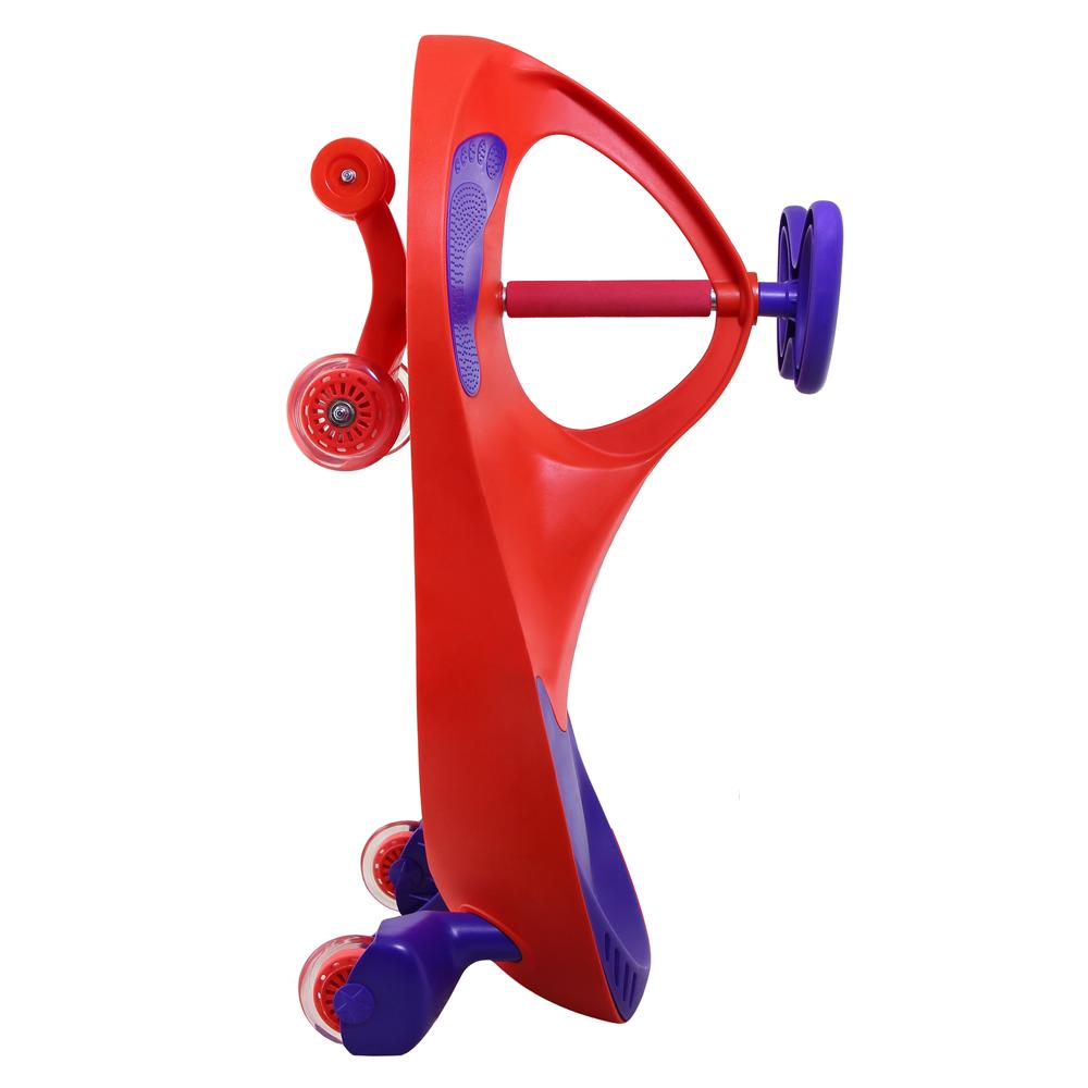 سه چرخه لوپ کار قرمز بنفش