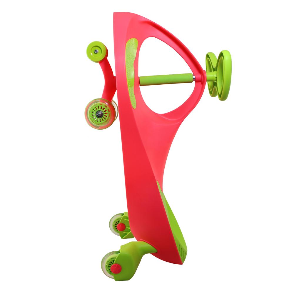سه چرخه لوپ کار صورتی سبز