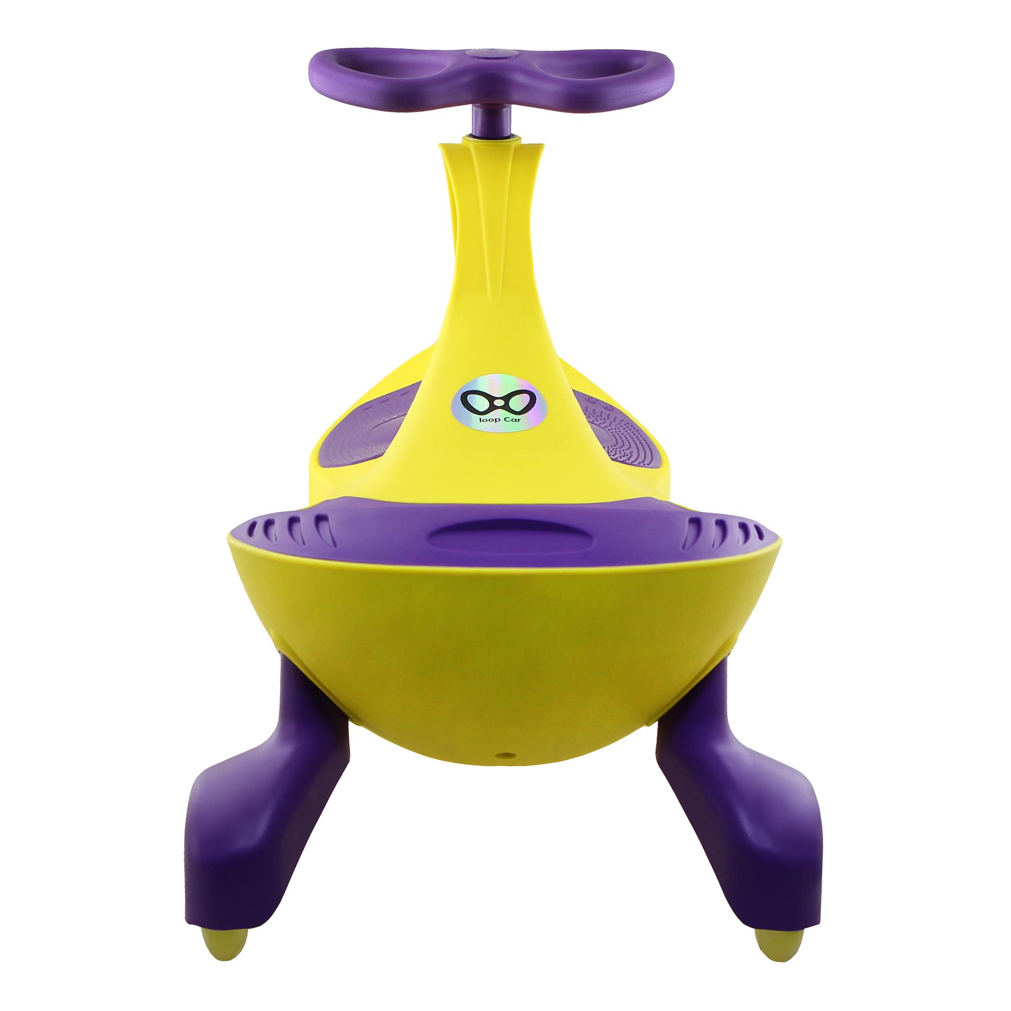 Loopcar Yellow Purple 04