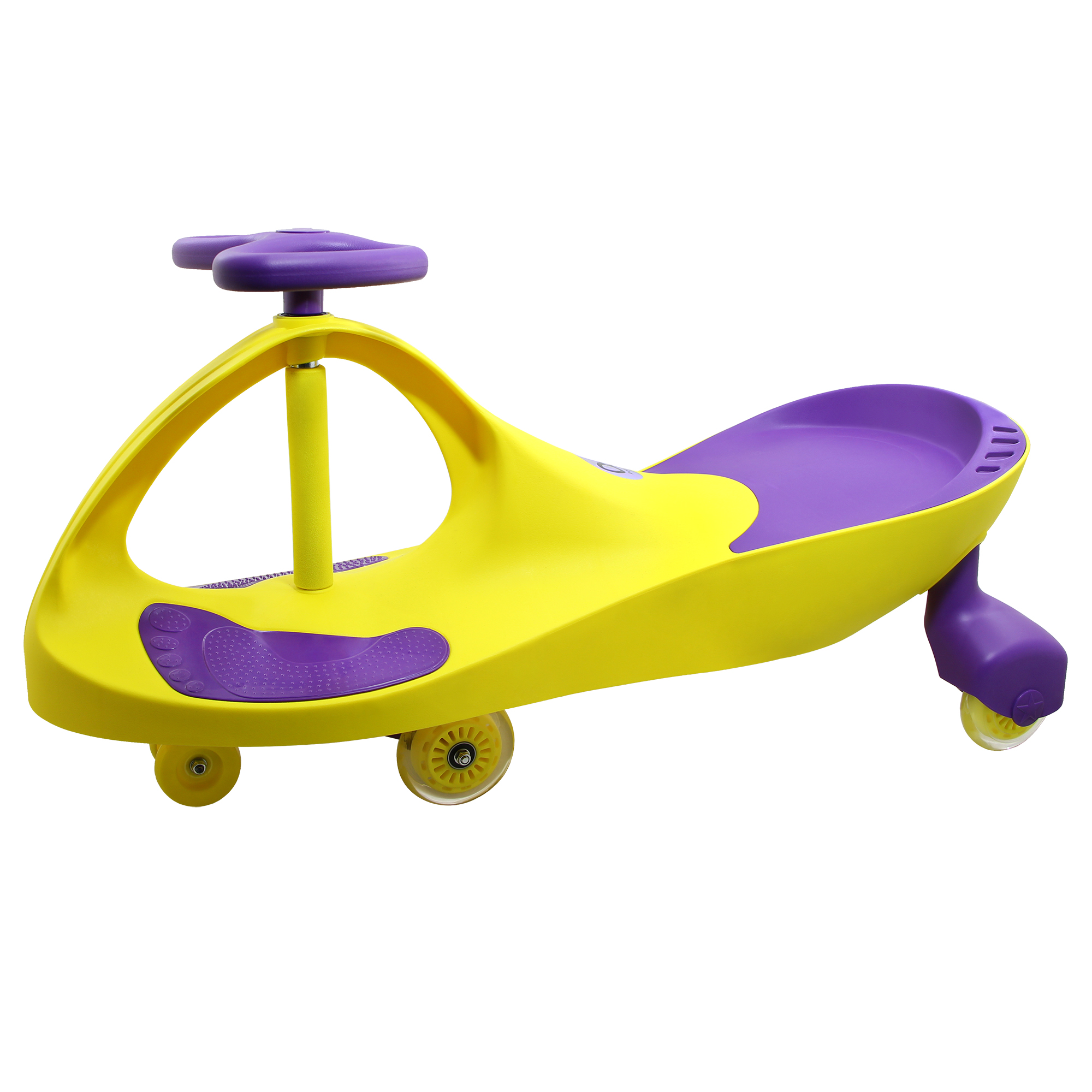 Loopcar Yellow Purple 02